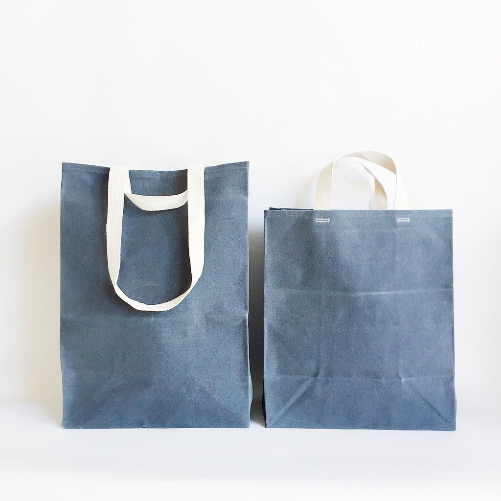 Waxed Canvas Market Tote at Port of Raleigh