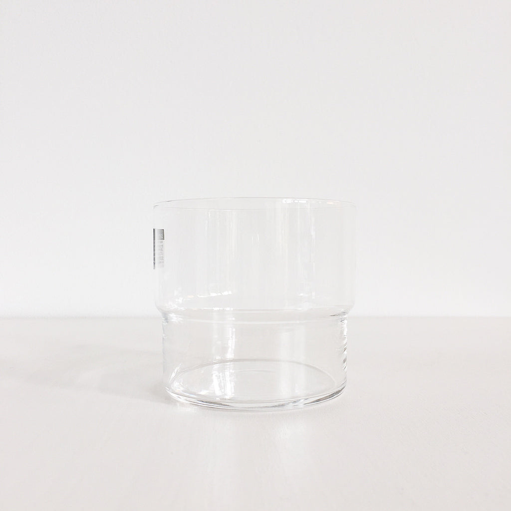 Hard Strong stacking drinking glasses made in Japan by Toyo Sasaki Glass Co. at Port of Raleigh