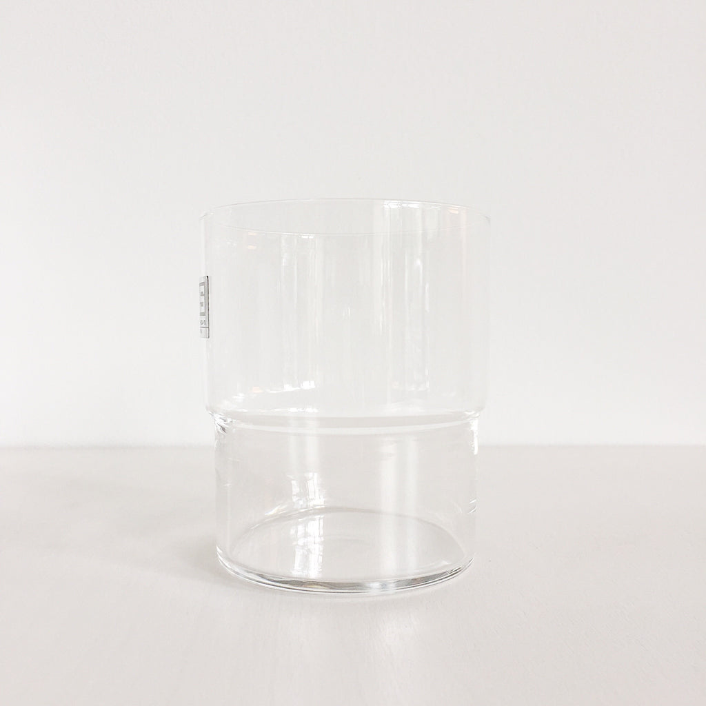 Durable stacking drinking glasses made in Japan by Toyo Sasaki Glass Co. at Port of Raleigh