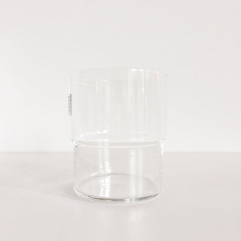 Durable stacking drinking glasses made in Japan by Toyo Sasaki Glass Co.