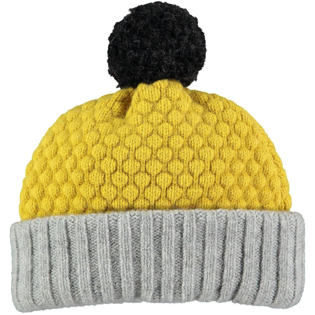 100% lambswool hat for kids made in the UK for warm and cozy winter outings at Port of Raleigh