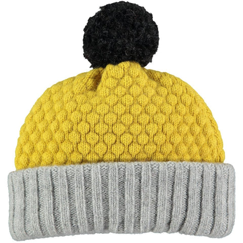 100% lambswool hat for kids made in the UK for warm and cozy winter outings