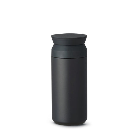 Minimalist stainless steel insulated tumbler perfect for on-the-go. Vacuum insulated via double wall. Designed by Kinto Japan