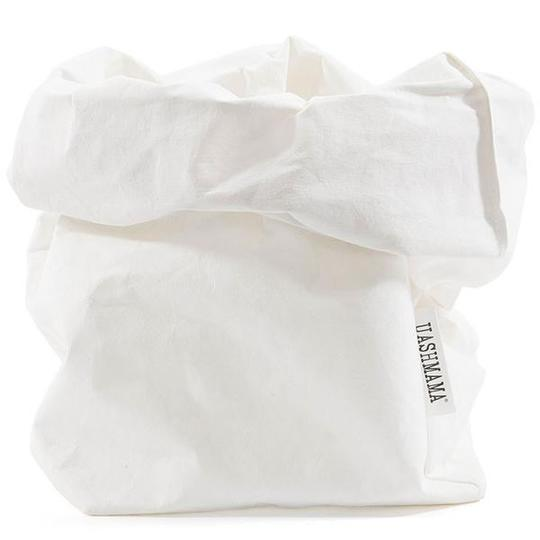Washable paper storage bags functional for everything from home and office. Made in Italy by Uashmama