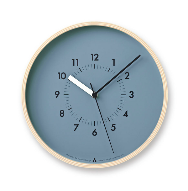 Soso Wall Clock, Blue