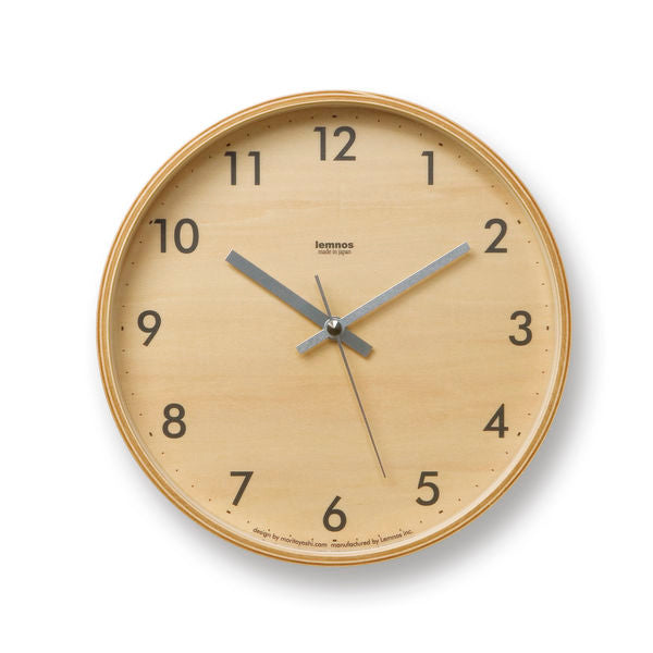 Plywood Clock at Port of Raleigh