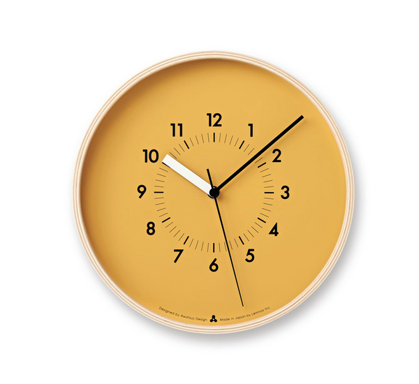 Soso Wall Clock, Orange