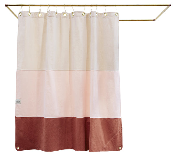 Canvas Shower Curtain, The Lido at Port of Raleigh
