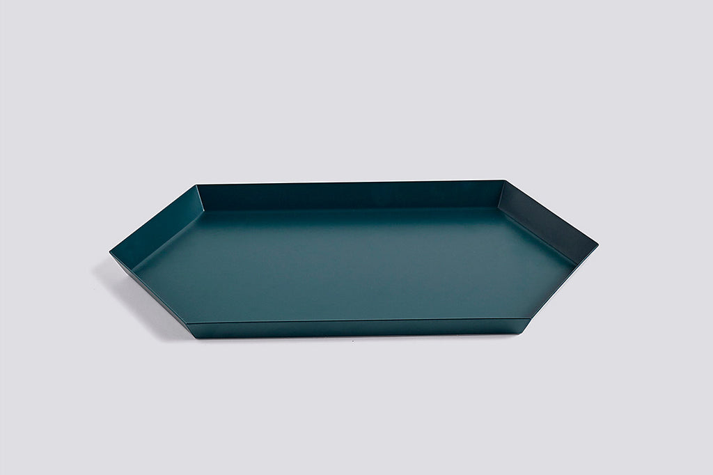 Danish designed metal trays for every style. Available in a myriad of colors and stackable shapes, these trays can be layered in infinite ways. Made with Coated steel by HAY design. at Port of Raleigh