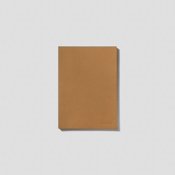 Minimalist paper notebook by Mishmash Hazel at Port of Raleigh