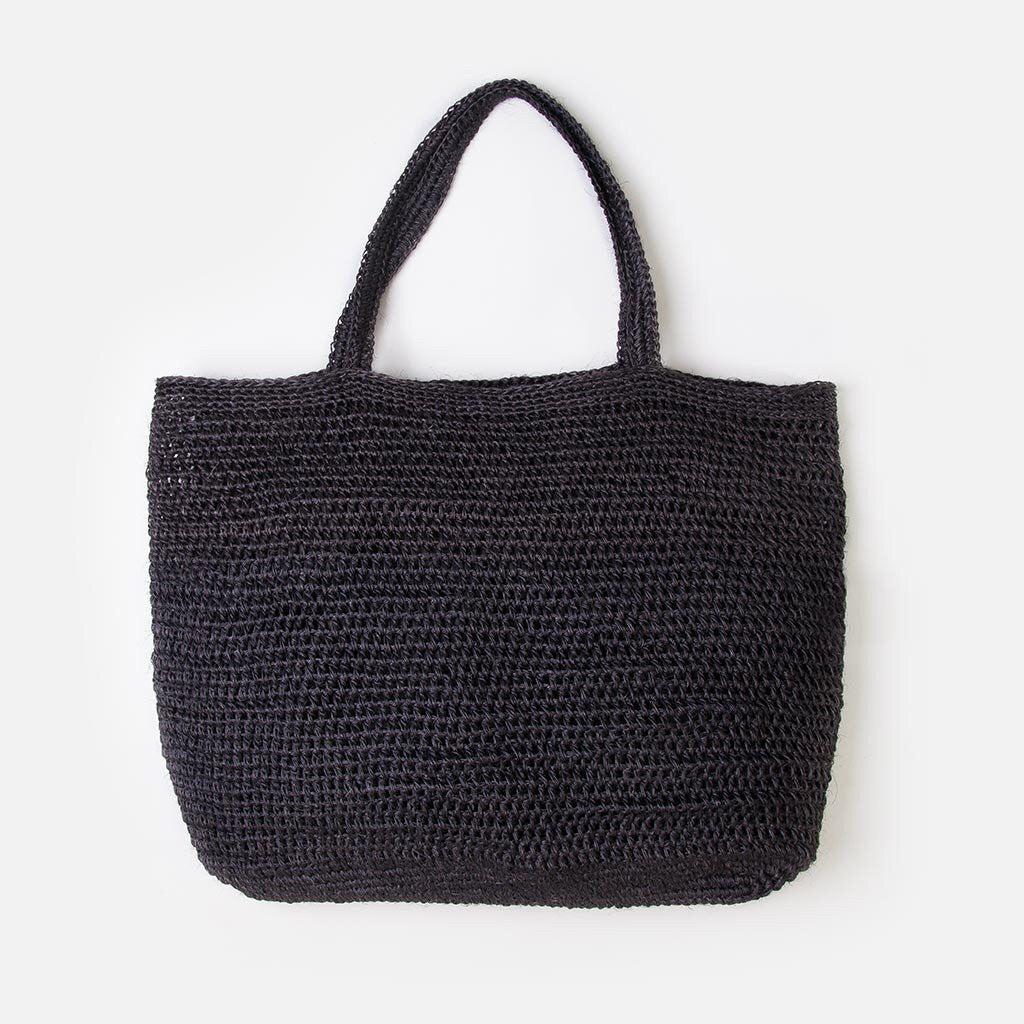 Riviera Tote - Black at Port of Raleigh