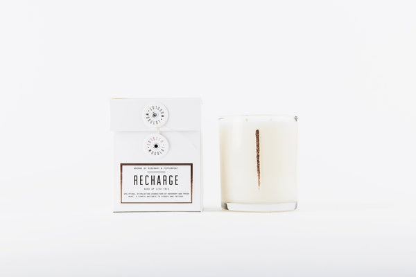 Woodlot Candle, Recharge 13.5oz. at Port of Raleigh