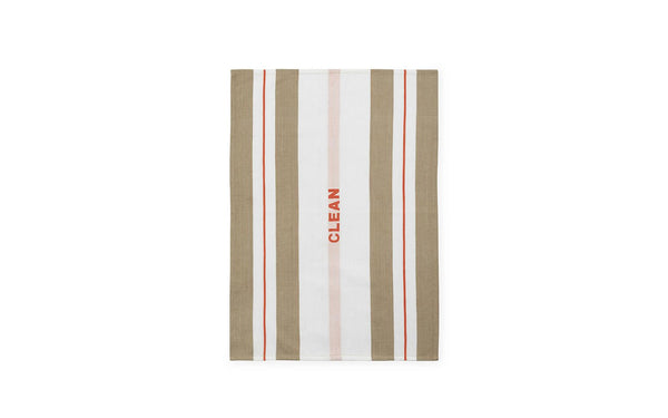 Minimal and modern tea towel with colors and patterns reminiscent of Nordic folklore. Made with Industrial cotton twill, making them highly absorbent and fast drying. Printed with the graphic