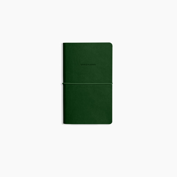Minimalist open dated planner agenda with Smyth Sewn binding by Poketo. at Port of Raleigh