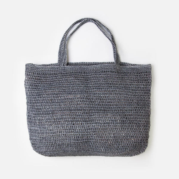 Riviera Tote - Grey at Port of Raleigh