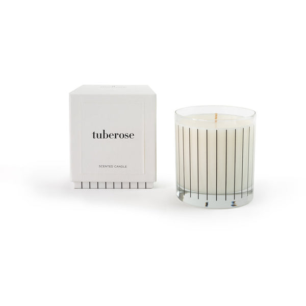 Complex yet refreshing candles hand poured in California by Studio Stockhome. Scents like Cotton, Vetyver, and Tuberose. With a design focus on minimal but stylish aesthetics, these vegetable wax candles are sure to help create an atmosphere of warmth and invitation.