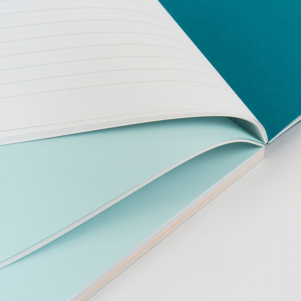 Modern and minimal notebook with 5 colored tabs ideal for organizing all your lists and notes. Side stitched for holding up to long term use and carrying with you wherever you go. By Mishmash.