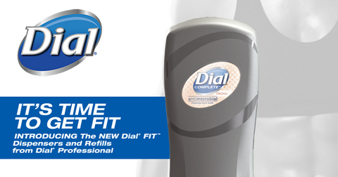 Dial Fit Dispensers and Refill System from Dial Professional