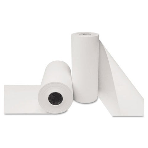 "Butcher Paper Roll, 18"" x 900 ft, White, One Roll"