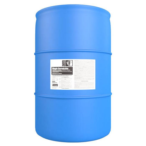Magic Germicide, Disinfectant, Deodorizer, Sanitizer, and Algaecide, 55 gal drum - Aero 620655PA
