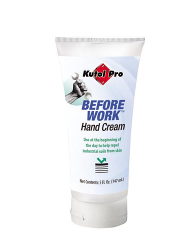 Before Work Hand Protection Cream, Works like an invisible glove, 5 oz. Tube, Kutol Pro 6415, Pack of 12