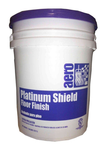 Floor Finish, Platinum Shield 5 Gal