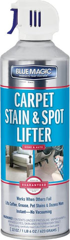Blue Magic 900-06 Carpet Stain & Spot Lifter Spray, 22 oz Can,  Pack of 2