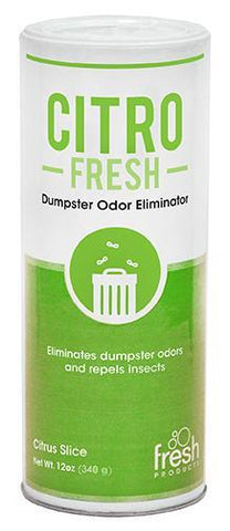 Citro Fresh Dumbster Granual Deodorizer, 12 oz Can, Box of 12
