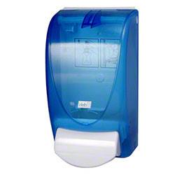 Restyle Curve Blue Translucent Dispenser for Deb 1-Liter refills - TBL1DS