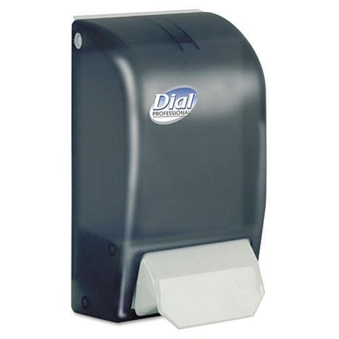Dial Professional Foam Soap Dispenser, Smoke, for 1000mL Refills, DIA06055, Pack of 1