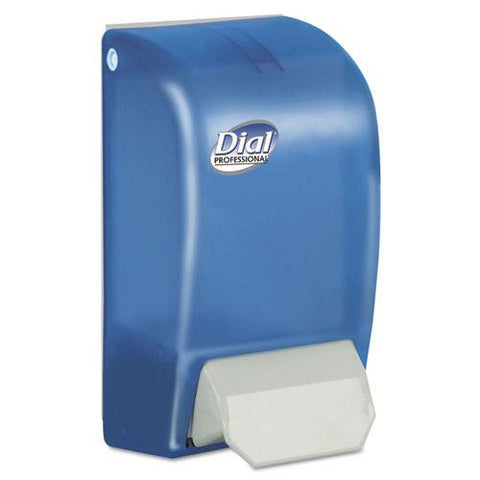 Dial Professional Foam Soap Dispenser, Blue, for 1000mL Refills, DIA06056, Pack of 1