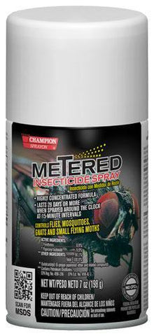 Metered Insecticide, Champion Sprayon 7 oz Can, Box of 12