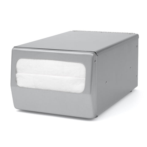 Counter Top Full Fold Napkin Dispenser Brushed Stainless Palmer Fixture ND0071-13