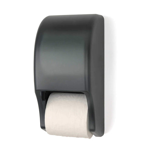 Two-Roll Standard Tissue Dispenser, Dark Translucent, Palmer Fixture RD0028