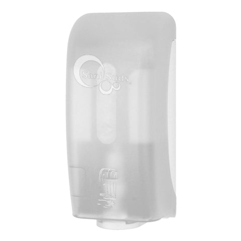 Automatic Sani Suds Soap and Sanitizer Dispenser White Translucent Palmer Fixture SF0305-03