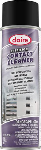 Contact Cleaner, Economical, 13.5 oz Can, Claire, Pack of 6 - 2936