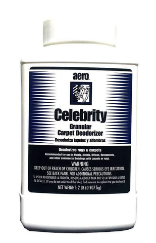 Carpet Freshener & Deodorizer Powder, Spring Fresh Fragrance, 2lbs Bottle, Celebrity Aero 716948PA-2PK