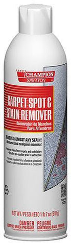 Carpet Spot & Stain Remover Spray, 18oz Can, Champion Sprayon - 5146, Pack of 12