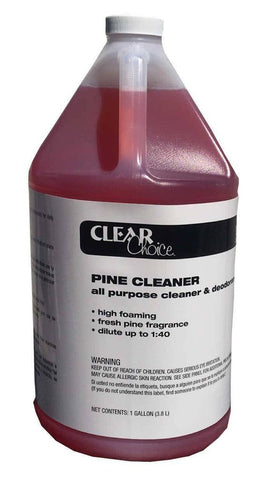 Pine Cleaner & Deodorizer Gallon, Clear Choice