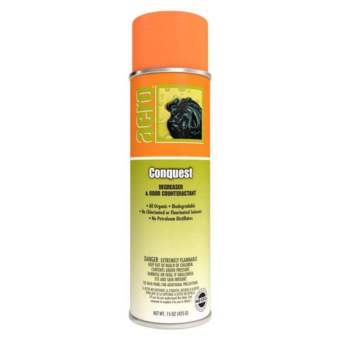 Tarpene Degreaser D'limonene, All Organic, Conquest, 20 oz. Can, Aero, Pack of 3