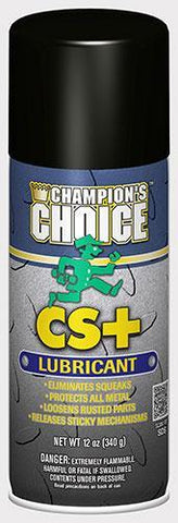 Moisture Displacer Spray, CS + Lubricant, 12oz Can, Champion's Choice - 5158 , Pack of 12