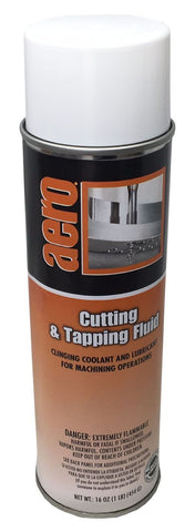 Cutting & Tapping Fluid Clinging Coolant and Lubricant, 16oz Can, Box of 3