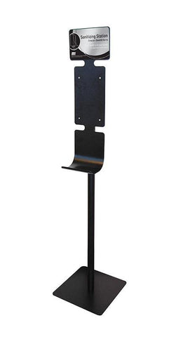 Mobile Hand Sanitizing Station Floor Stand for DEB ULTRA TouchFREE Dispensers - 92752