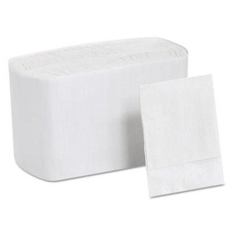 "Quick Dispenser Napkins, White, 6.5"" x 8"", 24 Packs of 250 - 6000"