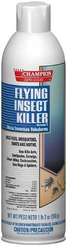 Flying Insect & bug Killer Spray Champion Sprayon 18 oz Can - 5102, Box of 12