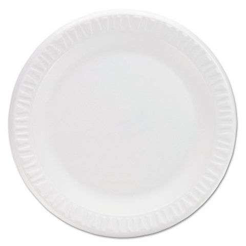 "Foam Plates 9"", non-laminated, Box of 500"
