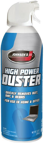 Johnsen's 4607 - High Power Duster, 10 oz. Can, Pack of 6