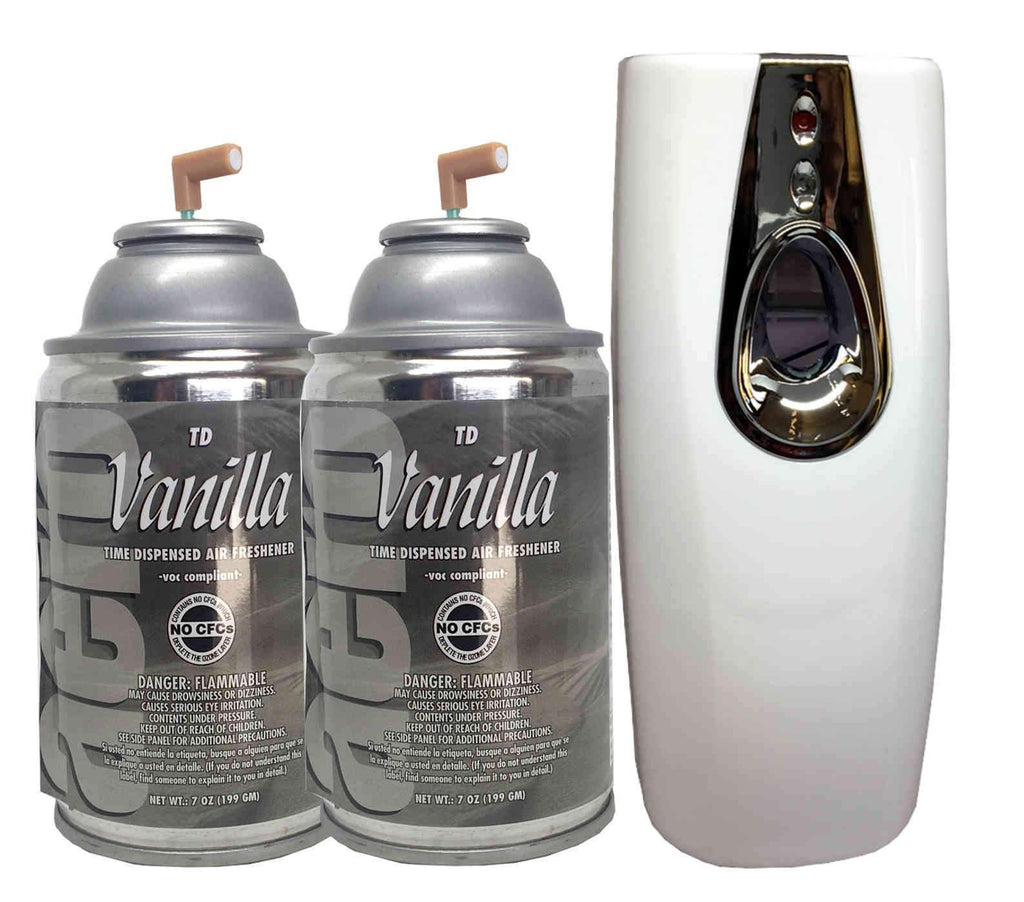 Automatic Spray Air Freshener Kit 2 Refills With 1