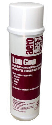 Lon Gon Odor Eliminator Liquid Air Freshener 22-oz bottle, Box of 12