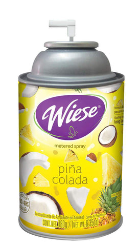 Automatic Spray Air Freshener Refill, Pina Colada, 7 oz. Can, Wiese, Box of 12
